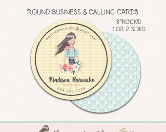 round business cards round calling cards round social cards three inch round business cards product tags hang tags circle card round sticker