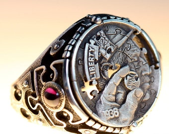 Limited Edition Puzzle Ring -by Aleksey Saburov