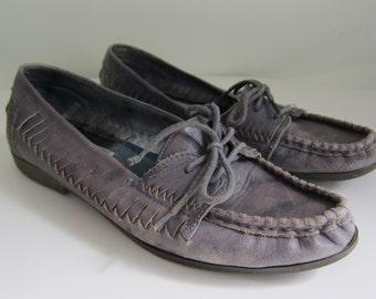 Vintage Blue Candies Fastrack Loafers