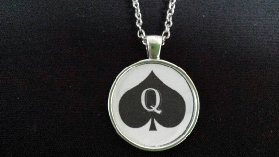 of spades jewelry of spades necklace pendant jewelry charm hotwife 3346