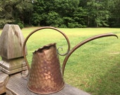 Vintage Hammered Copper Watering Can ReFabulousReVamped  ReFabulous