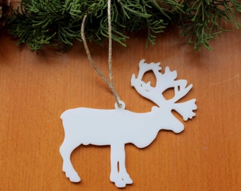 Deer Ornament, Christmas Tree Ornament, Merry Christmas, Tree Decoration, Holiday Decoration