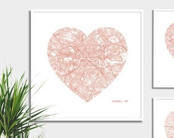 London Heart Map