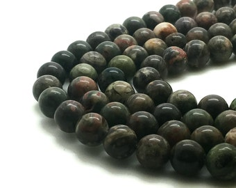 Round Natural Ocean Jasper Beads Strand 6∼10mm Ocean Stone Ocean Gemstone Ocean Wholesale Ocean Genuine Ocean Mala