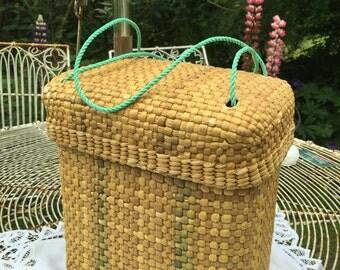 A pretty little picnic basket