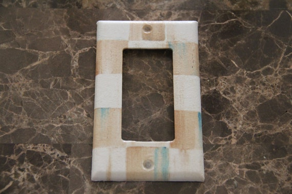 Single Rocker Switch Plate Outlet Cover Made With By
