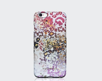 Leopard Print iPhone case for iPhone SE, 5/5s and 6/6s Animal print phone case from iconemesis