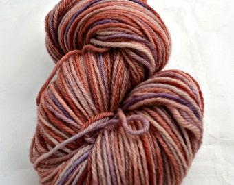 Hand-Dyed Yarn, Superwash Bluefaced Leicester, DK weight, UK yarn, Faeries