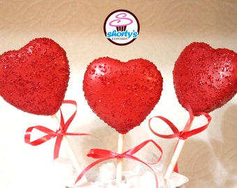 Valentine Heart Shaped Gourmet Cake Pops