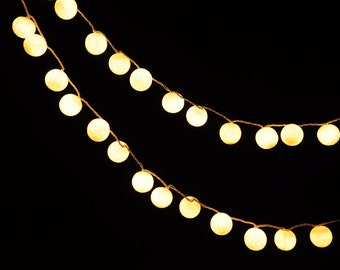 Special Price Hanging Cotton Lights For Decor By