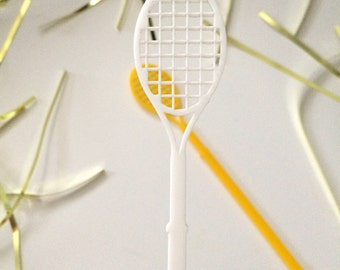 Tennis,Drink Stirrer,Wedding,swizzle Sticks,Cocktails,Signature Drink,Tennis Racket,Tennis Player,Gift ideas,Gift for her,Gift for him,6Pack