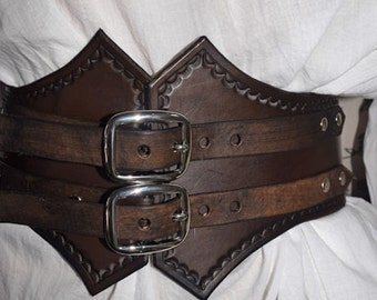 Leather Lady's Cinch Belt
