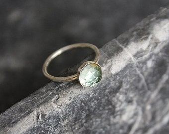ON SALE AMELIA | Ring Amethyst green and Silver 925