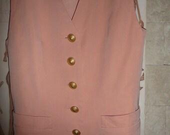 Escada Margaretha Ley womens wool silk  vest made in Germany Vest 34