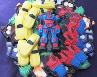 Transformers chocolates candy tray
