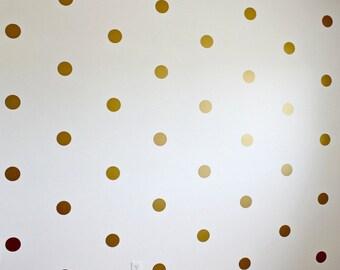 Hand Drawn Dot Decals Polka Dot Wall Decal Spots Wall - Wall decals polka dots