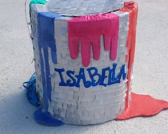 Paint Can Piñata