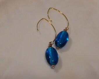 Drops of Blue Earrings