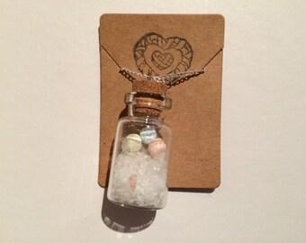 Macaron Bottle Necklace