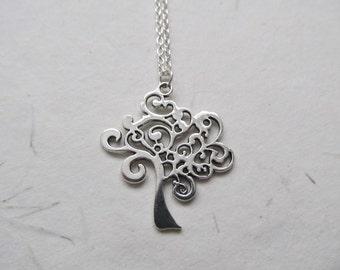 Tree of life necklace, tree of life pendant, tree jewelry