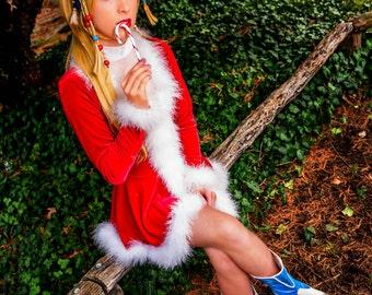Christmas Rikku Cosplay Print #2
