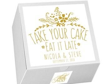 Cake Favor Box, Wedding Favor, Candy Favor Box, Event Favors, Dessert Bar, Favor Boxes, Dessert Buffet, Candy Bar, Candy Buffet, Popcorn