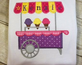 Ice Cream Cart Children's T-Shirt