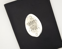 leather spoon medallion journal diary