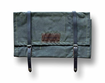 Northcore Collective Surf Tool Roll - DARK OLIVE GREEN
