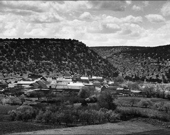 24x36 Poster . El Cerrito, San Miguel County, New Mexico 1941
