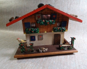 SALE!  REDUCED PRICE!  Chalet Bank - Swiss or German - No Key