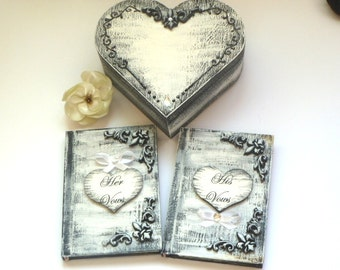 Wedding Gift Ideas For French Couple : ... French Wedding, Custom Colors Wedding Box, Cottage Wedding, Gift for