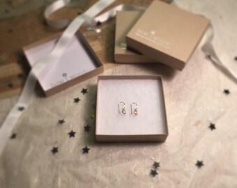 Rosie Posie 925 Sterling Silver Rose Quartz Gem Drop Earrings by How I Wonder