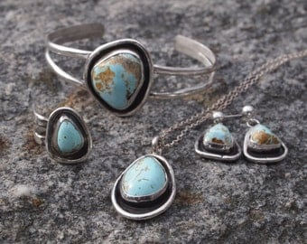 Southwestern Sleeping Beauty Turquoise Set