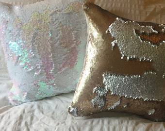 14x14 Mermaid Pillow
