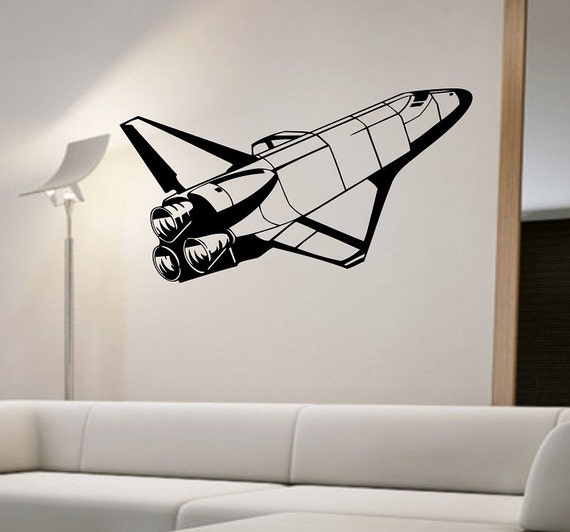 Space Shuttle Space Vinyl Wall Decal Sticker Art Decor Bedroom