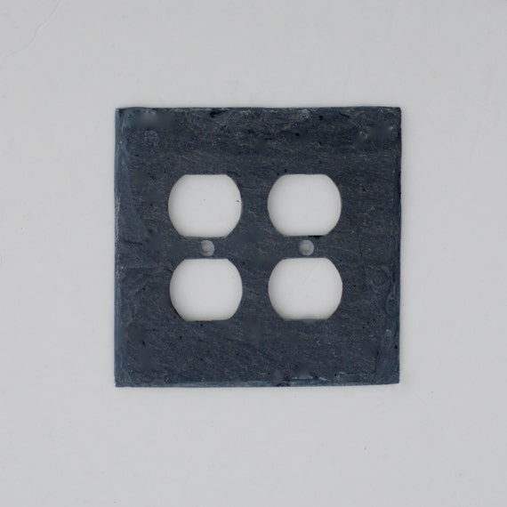 Decorative Wall Outlet Plates : Decorative double outlet cover switch plate wall