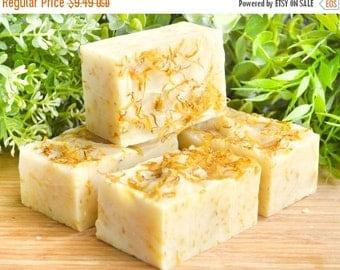 Calendula Soap - Marigold Soap - Vegan Soap - All Natural Soap - Herb Soap - Dried Flower Soap - Vegan Skin Care - Natural Beauty Products