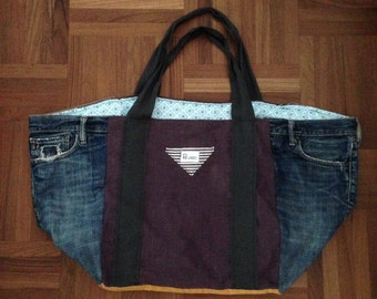 HANDMADE Classic DENIM BAG