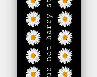 lol ur not harry styles - Daisy Pattern - Motivational Quote - Full printed case for iPhone - by HeartOnMyFingers - ANT-134