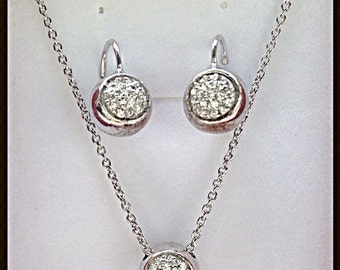 Silver plated jewelry oro18 k
