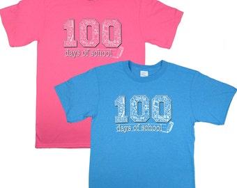 100 Days of School Neon T-Shirt Was 14.95 NOW 8.97