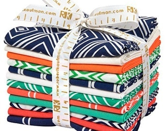 Metro Living Prep School 12 Pc Fat Quarter Bundle by Robert Kaufman