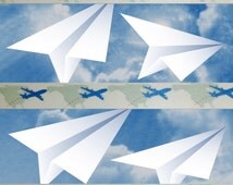 Leaving On A Jet Plane, Washi Tape