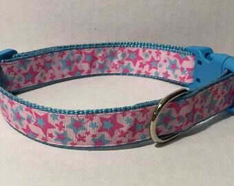 Shooting Stars Dog Collar