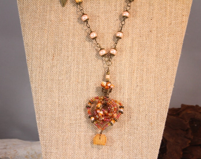 Natures best beaded Necklace