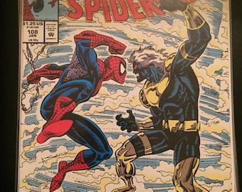 1994 Marvel Comics Web of Spiderman #108
