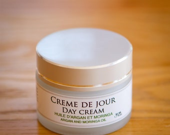 Argan and Moringa day cream