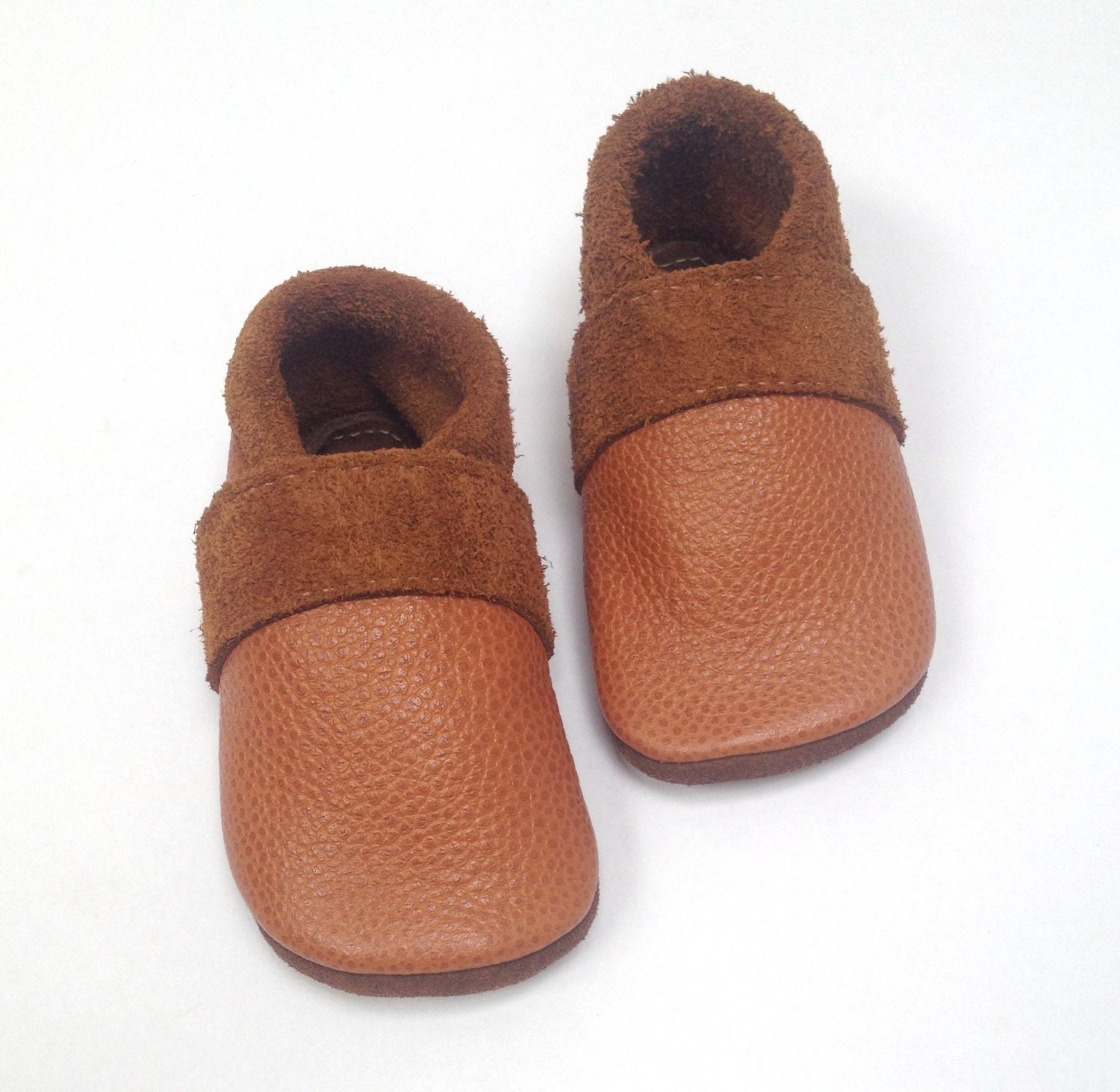 leather baby moccasins soft sole shoes eco friendly recycled