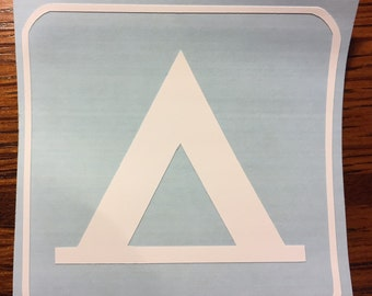 Camping sticker decal